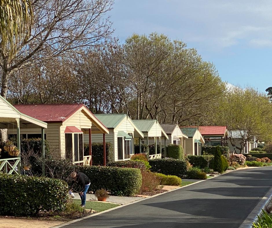 caravan park homes